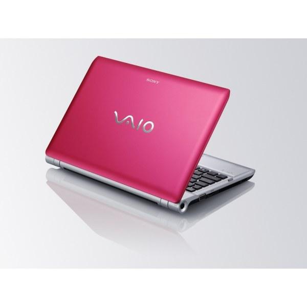 Стильный розовый ноутбук