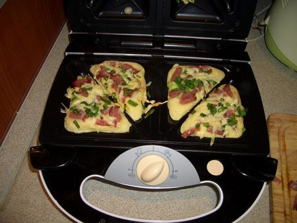 Сэндвичница 3 в 1 рецепты